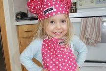 Cute Kids Aprons / adorable cooking and craft aprons for kids