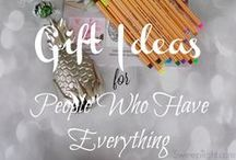 Gift Guides / Gift ideas to help speed your shopping along.  / by Jennifer Soltys