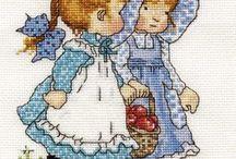 Dzieci - hafty