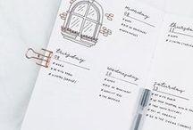 •bujo• / bullet journal inspiration