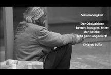 """Videos Zitate Gedichte deutsch von Horst Bulla / Gedichte & Zitate auf """"YouTube"""" von Horst Bulla, geb. 1958, dt. Freidenker, Dichter & Autor. - Videos - Zitate - Gedichte - Quotes"""
