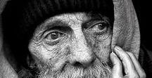 Alte Menschen und Armut / Alt, Armut, Menschen,