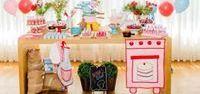 Festa Mini Chef - L&K Decor / Decoração personalizada @leniekiti