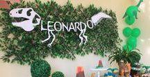 Festa Dinossauros - L&K Decor / Decoração de eventos @leniekiti