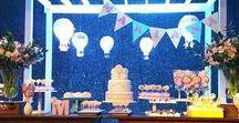 Festa Balão e Nuvem / Decoração de eventos @leniekiti
