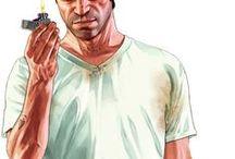 Grand Theft Auto V / Grand Theft Auto V (GTA V) videos and great artwork.