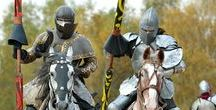 At your service, my Liege / Medieval knights, armour and battle