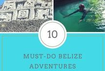 Heading for Belize! / Swim with nurse sharks, feed a jaguar, jump off a waterfall 500 feet underground - it all happens in Belize!