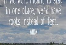 Wanderlust / Travel quotes and inspiration for the gypsy soul