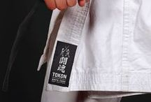 Tokon 'Fighting Spirit' Brand Identity / An identity for a small martial arts supply business. Japanese 'Tokon' translates to Fighting Spirit. Something which all true martial artists have.