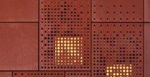 CORTEN STEEL ARCHITECTURE & DESIGN WORKS / Corten steel applied to interior design and architecture