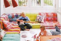Kids Spaces / Cool spaces just for kids! Ideas for playrooms, kids bedrooms, and more!
