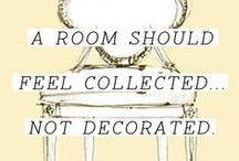 Interior Design  / All things that I love in an interior - colour, texture, form, function, whimsy