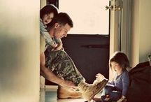 Military Families / Military families are some of the strongest families. Thank you for serving our country, and all that do you to protect us! / by Mr. Dad