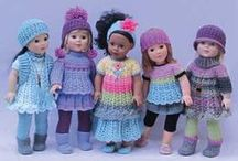 18 inch doll items / 18 inch doll clothing, shoes, furniture, etc. DIY, craft / by Linda Gibelyou