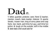 Fatherhood Quotes / Fatherhood looks easy, but is one of the hardest tasks known to man. But at the end of the day, your kids will always love you! / by Mr. Dad