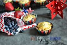 Patriotic Holidays / Recipes, crafts and more perfect for July 4th, memorial day etc.