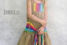 Одежда для доченьки. / by Tatiana Alekseeva Sni No
