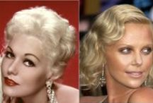 Icons of Luminous Beauty - Charlize & Kim / Charlize Theron and Kim Novak - two generations of radiance / by Julaine Haraden Morley