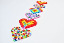 Perler Beads- Melted Magic / Perler Beads (AKA Hama Beads) Projects of all kinds!