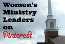 Must-Follow Women's Ministry Leaders / We are an active group of women's ministry leaders serving the function of women's ministry in the local church.  Our goal is to provide solutions, strategies, ideas and encouragement for today's Christian women's ministry leaders and their teams.                 NOTE:  We are just getting started, and more content providers will be joining us soon!