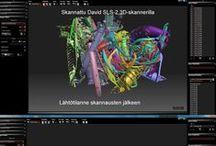 3D-skannaus / Kuvia 3D-skannauksista, 3D-skannereista ja 2D/3D-mittaus projekteista.
