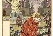 """Календарь """" La belle jardininier""""(Прекрасная садовница)  1899 год"""