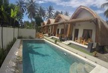 Teras Lombok Bungalow / Accommodation in Mangsit, Senggigi, Indonesia. Best choice for flashpackers