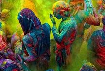 Vrindavan Holi / Holi is an Indian festival originated from Vrindavan. For that reason Vrindavan holi is the sweetest.