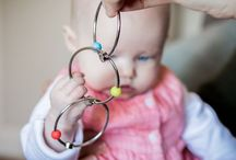 Yummirings - metal teething rings / Innovative stainless steel teething rings with silicone beads. Suitable from birth.