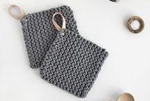 DIY // Stricken & Häkeln / Ran an die Nadeln! Ein paar wollige Werke wollen gestrickt und gehäkelt werden. // Knitting & Crocheting, Wool