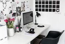 Workspace. / Ran an die Arbeit! An einem schönen Schreibtisch und toll eingerichteten Arbeitsplatz geht alles viel leichter von der Hand. // Workspace, desk