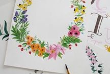 DIY // Wasserfarben & Aquarell / Ran an die Pinsel! // Watercolor
