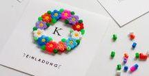 DIY // Bügelperlen / Bügeleisen anschalten und los geht's! // Hama Beads, Iron-on Beads