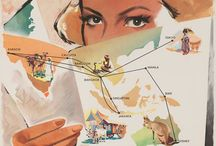 Vintage Airline Posters World / Take your mind around the world!
