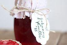 Marmelade | Lecker einkochen / Ich lieeebe gute Marmelade! Und es gibt so unendlich viele schöne Rezepte und neue Ideen. Zeit für eine neue Pinnwand...