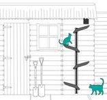 Catipilla's Cat Tree / At Catipilla, we believe that all cats should be able to climb to fulfill an innate instinct. Our climbing frames promote a healthy lifestyle by replicating a cat's natural environment and creating safe spaces for them to climb and roam freely.
