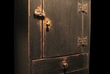 Aging, antiquing, distressing, finishing, staining