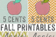 Printables and Fonts / Printables, Free Fonts  / by Lindi Gomez