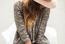 Trend: All That Glitters / We love shiny metallics & glittery sequins.