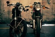 Hello Moto / Some great photos that focus on the lines and contours of these machines and a collection of vintage and modern motorcycles that I would love to own.