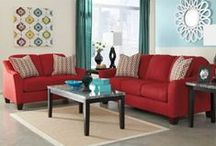 Radiant Red / Red's and Pinks to make a BOLD statement in the home!