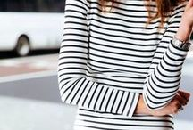 Trend: Stripes / We're rather partial to a stripe here at Snap Fashion.  Particular love for a classic breton!