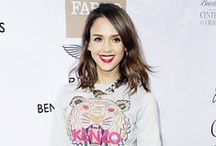 Style Inspiration: Jessica Alba / We can't help but envy Jessica's outrageously amazing wardrobe! See a piece you like? Find it at Snap Fashion! snapfashion.co.uk