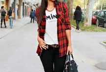 Trend: Plaid & Checkered / We love the check patterns out there - from tartan to window pane