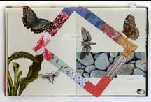 parchment - collage/mixed media / by Ulla Norup Milbrath
