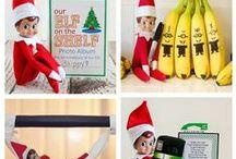 Team Pendley/Hall's Elf On A Shelf Harvey is Busy / Elf on a shelf ideas