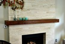 Fireplace ideas / by Camille Gontarek