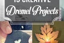 DIY - Dremel / Dremel, Multitool, Versatip, Versaflame, Akku-Dremel, Schmuck, DIY, Holz, Metall, Kunststoff, Ideen, Flexible Welle, Gravur, Bohren, Spike05de