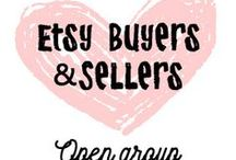 Etsy Buyers and Sellers / A board to post your favorite etsy finds, and your own etsy products! For every pin of your own product, please post 1 pin from another shop! No more than 4 pins per day, please. To join, just follow the board and I'll add you! I have been getting a lot of follows, so if it's been a week and you've not been added, message me at etsy hellohappy.etsy.com ❤️